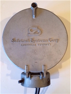 Vintage Safetran Systems Corp Railroad Railway Crossing Bell Louisville Ky