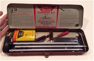 Vintage Outers Gunslick Shotgun Cleaning Kit 20-28 Gauge Oil Can / Hunting Tools