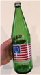 Vintage 1975 7up Bi-Centennial Commemorative Glass Soda Bottle 32 Oz Quart