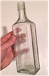 Large Antique Medicine Bottle Scott Emulsion - Cod Liver Oil - Blob Top