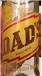 Vintage King Size Dads Root Beer Soda Bottle ACL 10 Oz Crown Top Chicago Il