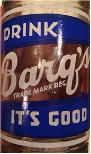 Vintage 1958 Barqs ACL Soda Bottle Fort Worth Texas Tx