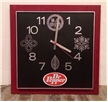 Vintage Collectible Dr Pepper Soda Advertising Electric Clock Sign KCS - Works