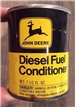 Old Vintage John Deere Diesel Fuel Conditioner Oil Can 7 1/2 Oz Metal Tin
