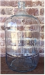 Old Vintage Glass Carboy Water Bottle Jug 5 Gallon - Crisa Made In Mexico