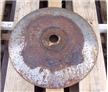 Large Heavy Steel Metal Plow Disc Blade - Antique Farm Lamp Base Shade / Wok
