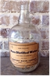 Old Vintage Glass 1 Gallon Sanitary Water Co Bottle Jug Fort Worth Texas TX
