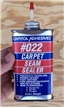 Vintage Capital Adhesives Carpet Seam Sealer Oiler Tin Metal Can Collectible