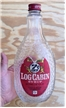 Vintage Collectible Log Cabin Syrup Bottle Jar 1 Quart 4 Oz - Drip Proof Lid