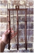 Old Vintage Antique Cast Iron Metal Plow Rake Crop Guide Thrasher Cotton Peanut