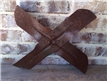 Old Vintage Metal Tractor / Fan Blade - Industrial Decor 18""