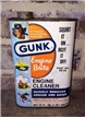 Vintage Gunk Engine Brite Degreaser Oil Tin Metal Can 1 Quart