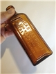 Antique Hicks Capudine For Headaches Colds and Gripp Medicine Bottle Amber Brown