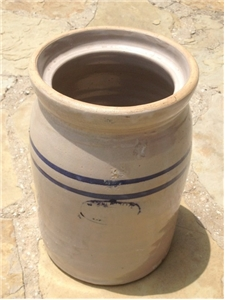 Vintage Clay Butter Churn