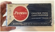 Vintage Collectible Peters Center Fire Cartridges Ammo Box Dupont Remington