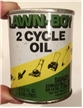 Vintage Lawn Boy 2 Cycle Metal Oil Can Sealed Pull Tab