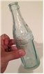 Vintage 1923 Square Sided Pittsburg Texas Tx Coca Cola Soda Water Bottle