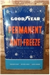 Vintage Goodyear Permanent Antifreeze One 1 Gallon Gas / Oil Metal Tin Can