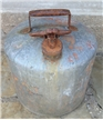 Vintage 5 Gallon Eagle Metal Gassoline Safety Can - Farm Industrial Decor