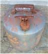 Old Vintage Eagle 5 Gallon Gasoline Can Red Safety Can