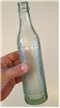 Vintage Texarkana Texas Tx Soda Bottle Gallaghers Bottling Hobnail Art Deco