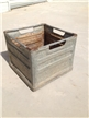 Metal Paris Texas Milk Crate Lamar Creamery 1962