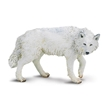 Wild Safari Wildlife White Wolf Toy Model