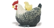 Safari Hen With Chick Model Toy, chicken toy, chicken model, kids plastic chicken replica, wild safa