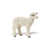 Safari Lamb Model Toy, Lamb toy, Lamb model, kids plastic Lamb replica, wild safari animals