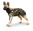 Wild Safari Wildlife African Wild Dog Toy Model