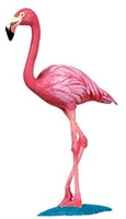 Wild Safari Flamingo Wings of the World Toy Model