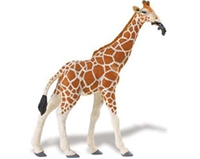 Wild Safari Wildlife Reticulated Giraffe Toy Model