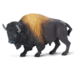 Wild Safari Wildlife Bison Toy Model