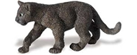 Wild Safari Wildlife Panther Cub Toy Model