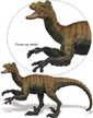 Safari Great Dinosaurs Velociraptor Toy Model