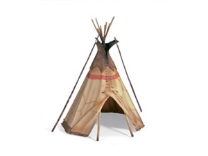 Schleich Wild West Indian Tipi Model - Retired