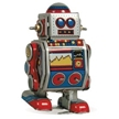 Mini Classic Tin Robot, classic toy robot, adult collector series tin robots, schylling toys