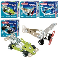 Erector Micro Kits - F1 Race Car, Kids erector metal building toys, Schylling, to buy, online