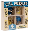 Large Wire Puzzles Gift Pack - Brain Teasers
