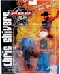 PBR Champion Bull Rider Toy Model-Chris Shivers