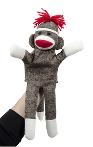 Sock Monkey Puppet
