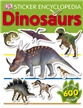 Sticker Encyclopedia Dinosaurs Book