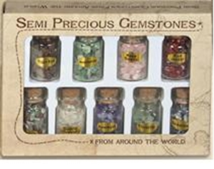 Semi Precious Gemstones 9 Pack