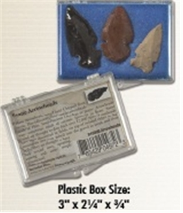 Arrowheads Collection Box of 3
