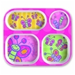 Kids tray, Child Tray, Food Tray, Melamine Tray Butterfly, Kids Tray, Eating Utensils