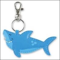 Bright Light Shark Key Chain