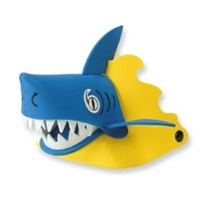 "kids hats, shark toys, kids shark hat, nature shade, poof-slinky nature shades, ""chomp"" the shark na"