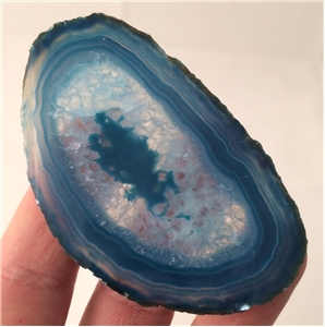 Small Agate Slab Polished- Turquoise