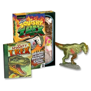 The Amazing Squishy T Rex Gift Set