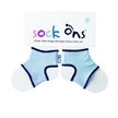 Baby Blue Sock Ons 0-6 Months